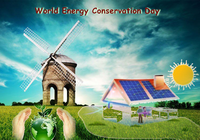 a message on world energy conservation day   save our green