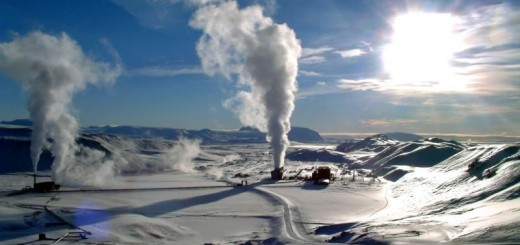 Geothermal Power Stations in Iceland