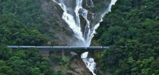 Dudhsagar Waterfall, India.
