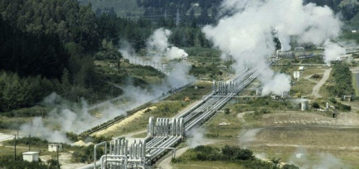 Waikarei: Geothermal Power Station