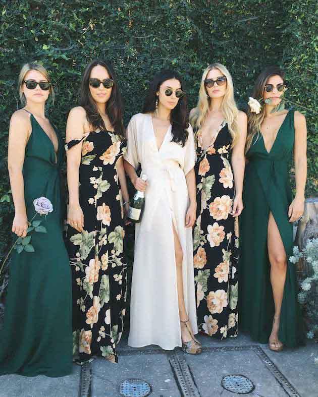 Pre-party dress swap