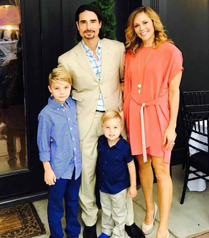 Kevin Richardson and his Family