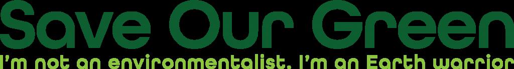 save our green header logo